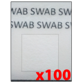 FRMSWB-04x100 Swab Detector for Formaldehyde (Order 100 Tests)